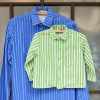 マリメッコ marimekko ヴィンテージ キッズヨカポイカシャツ(ライトグリーン)