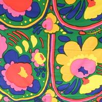 マリメッコ marimekko <Karuselli>ヴィンテージ・ファブリック