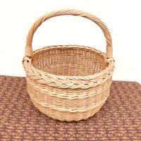 ヴィンテージ ハンドルバスケット(handle basket)