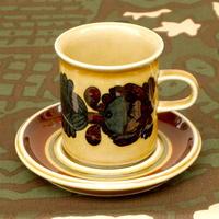 ARABIA アラビア オトソ(オツソ)コーヒーカップ&ソーサー