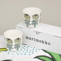 マリメッコ marimekko <Vihkiruusu>コーヒーカップ2個セット 日本限定