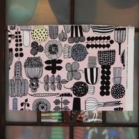 マリメッコ marimekko <Puutarhurin Parhaat>ファブリック(ピンク)50×75cm 日本未入荷