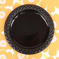 ビング・オー・グレンダール Bing&Grondahl コーディアル・パレット プレート(L)(ブラック)