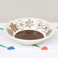ロールストランド Rorstrand アネモン スープ皿(ブラウン)