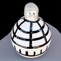 マリメッコ marimekko 70周年記念 フィギア/入れ物(Rauha)第二弾 新品
