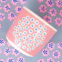 マリメッコ marimekko <Puketti>コーヒーカップ1個(ピンク)(b) 日本限定 廃盤 未使用品