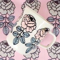 マリメッコ marimekko <Vihkiruusu>マグカップ(ピンク)(b) 廃盤 未使用品