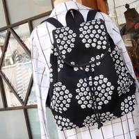 マリメッコ marimekko <Puketti>バッグパック(ブラック)