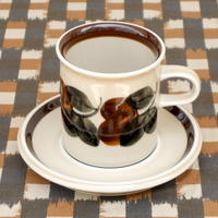 ARABIA アラビア ルイヤ コーヒーカップ&ソーサー