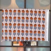 マリメッコ marimekko <Vihkiruusu>ファブリック(ブラウン)50×73cm 廃盤カラー