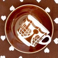 ARABIA アラビア ステンシル(マルヤ)コーヒーカップ&ソーサー