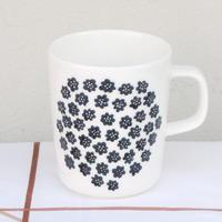 マリメッコ marimekko <Puketti>マグカップ(ホワイト)日本別注