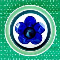 ロールストランド Rorstrand シッパ スープ皿(a)(ブルー)