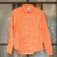 マリメッコ marimekko  ヴィンテージ ヨカポイカシャツ(オレンジ)