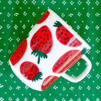 マリメッコ marimekko <Mansikka>マグカップ