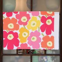 マリメッコ marimekko <Pieni Unikko>コーティング・キャンバス・ファブリック(カラフル)50×78cm 日本未入荷
