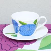 イッタラ Iittala × マリメッコ marimekko <Primavera>カップ&ソーサー(フィニッシュブルー)