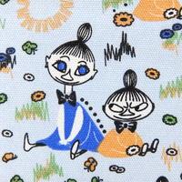 ムーミン Moomin キャンバス・ファブリック(水色)新品
