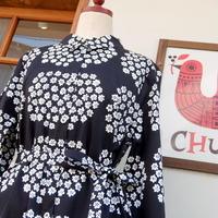 マリメッコ marimekko <Puketti>シャツワンピース(ブラック)大きなサイズ