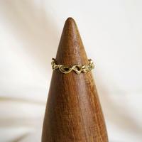 motif ring 3 - gold