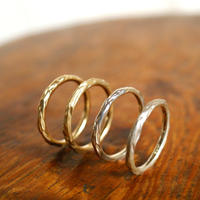 craft line rings 4 - ladies gold