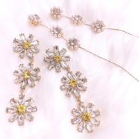 Daisy flower bijou pierce