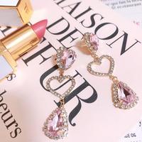 Pink cherry heart pierce