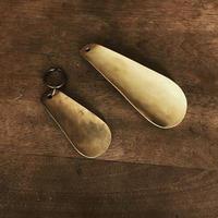 真鍮 ミニ靴べらキーホルダー