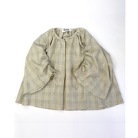 shirring 羽織りcheck