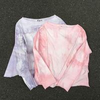 A-line  tie-dye