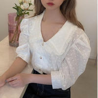 【再入荷】cotton puff lace bl CL025