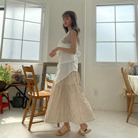 【再入荷】crepe skirt CL031