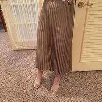 【再入荷】cocoa pleats skirt  CL016