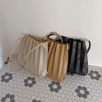 【再入荷】pleats bag   CL011