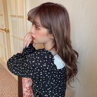 【再入荷】mini flower shirring  BL  CL014