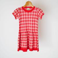 Tartan Dress RED×ECRU  (FUB) 140、150cm