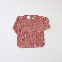 Hazel baby top RED  (kids case) 80、92cm