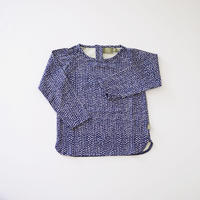 Hazel baby top BLUE  (kids case) 80、92cm