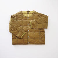 CREW NECK BTN DOWN JKT BEIGE (TAION) 100~140cm
