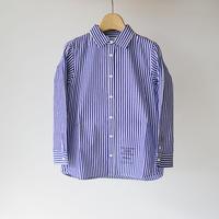 culture shirt STRIPE BLUE (highking) 150~160cm