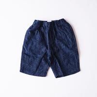 JACQUARD SHORTS DK BLUE (ARCH&LINE) 145~165cm