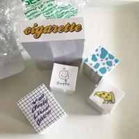 cigarette sticker pack