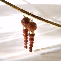 OLYMPIA earrings - BAYONG WOOD