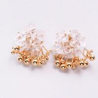 Aria Earrings - CRYSTAL