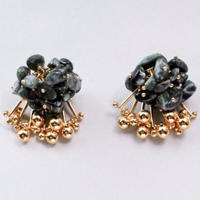Aria Earrings - SERAPHINITE
