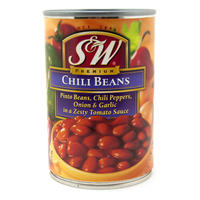 チリビーンズ缶 439g