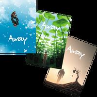 『Away』ポストカード3枚セット