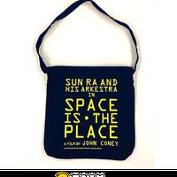 トート(ショルダー)バッグ/ネイビー 『サン・ラーのスペース・イズ・ザ・プレイス』