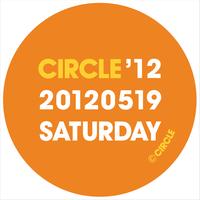 CIRCLE'12 オフィシャル缶バッジ・セット