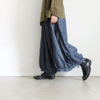 17-0010 Linen Chino Denim Pants / NAVY